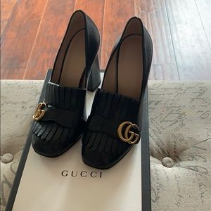 Authentic Gucci Marmont Shoes